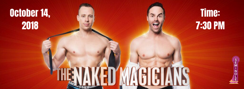 Naked Magicians Photo Banner