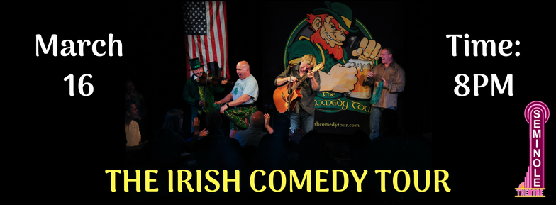 Irish Comedy Tour Photo Banner