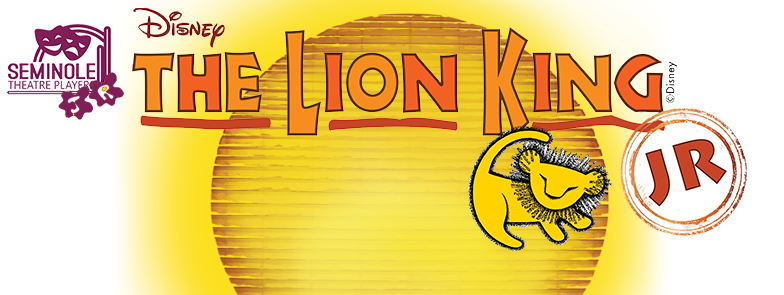 The Lion King Jr Registration Seminole Theatre In