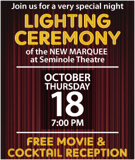 Marquee Lighting Ceremony & Singin' in the Rain Movie