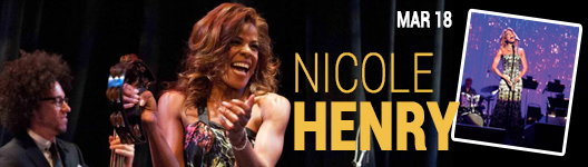 Nicole Henrry at the Seminole Theatre in Homestead Florida