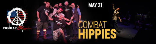 Combat Hippies at the Seminole Theatre
