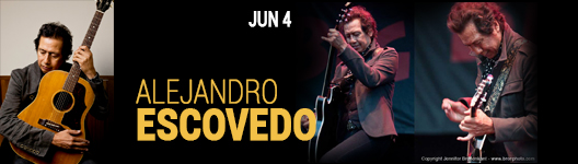 alejandro escovedo at the Seminole Theatre