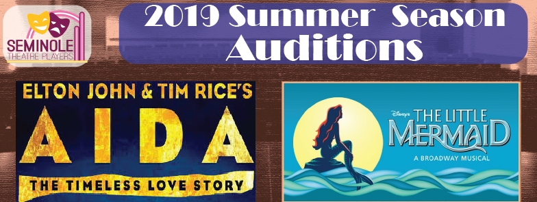 Seminole Theatre Players Audition Banner