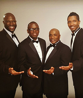 The Drifters in Homestead Florida at The Seminole Theatre
