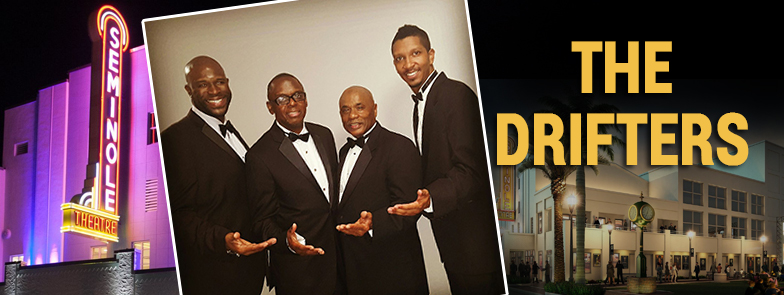 012416 event - The Drifters at the Seminole Theatre