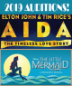 Aida & The Little Mermaid Cast Lists