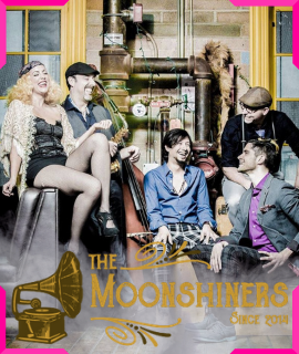The Moonshiners featuring Savannah Smith 8:30PM