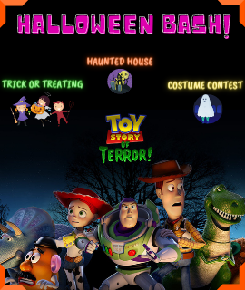 Toy Story of Terror - Halloween Bash! 6pm